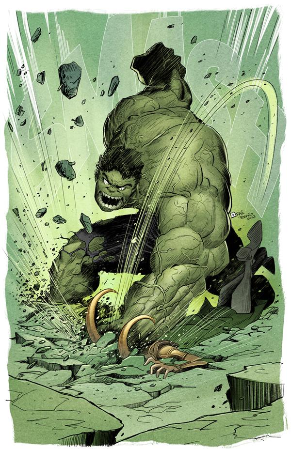 Puny God Hulk.Fantart by raultrevino