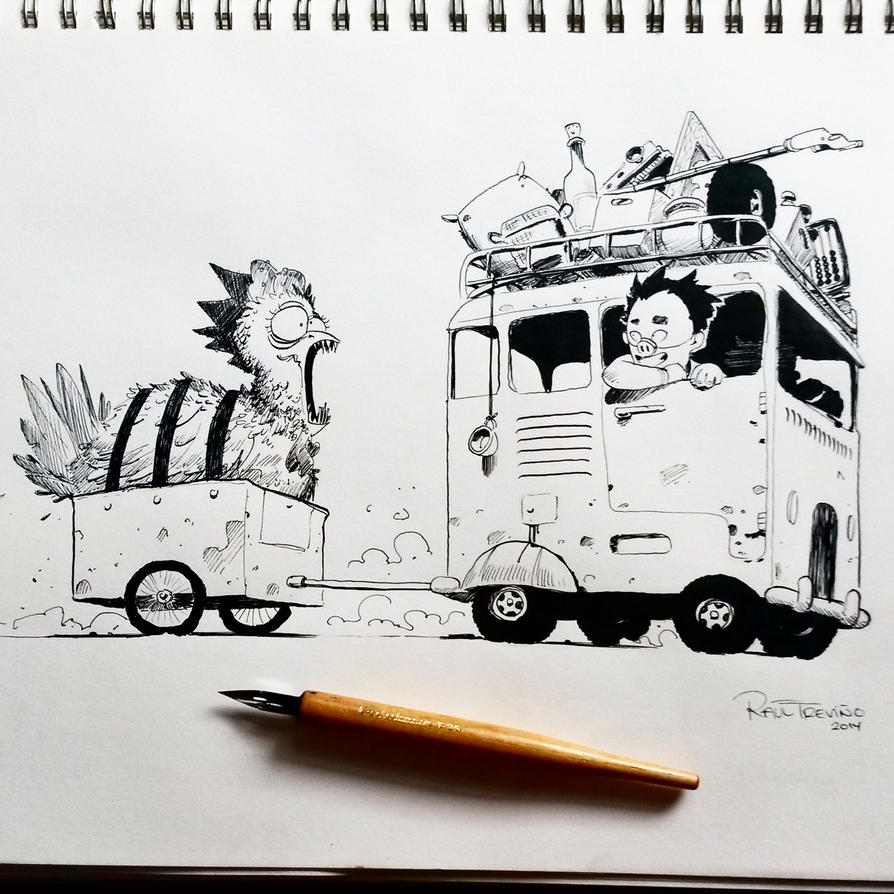 Inktober day 20 by raultrevino