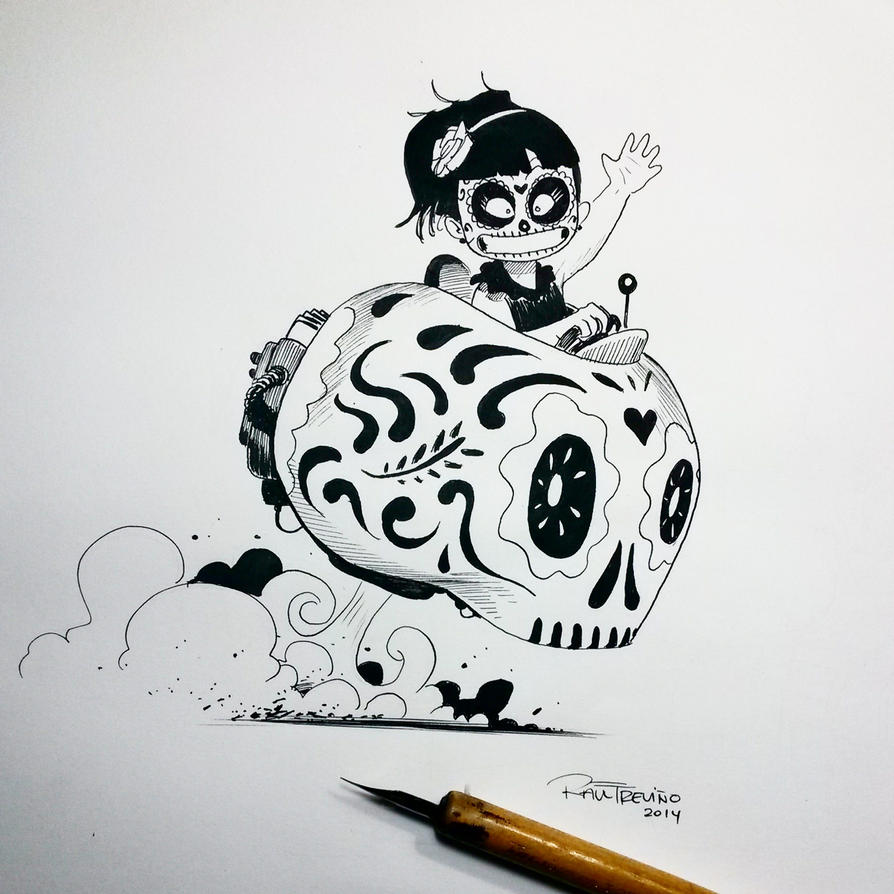 Inktober day 30 by raultrevino