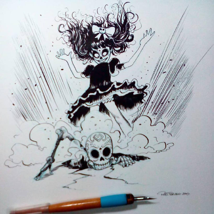 Inktober2015 day 8 by raultrevino