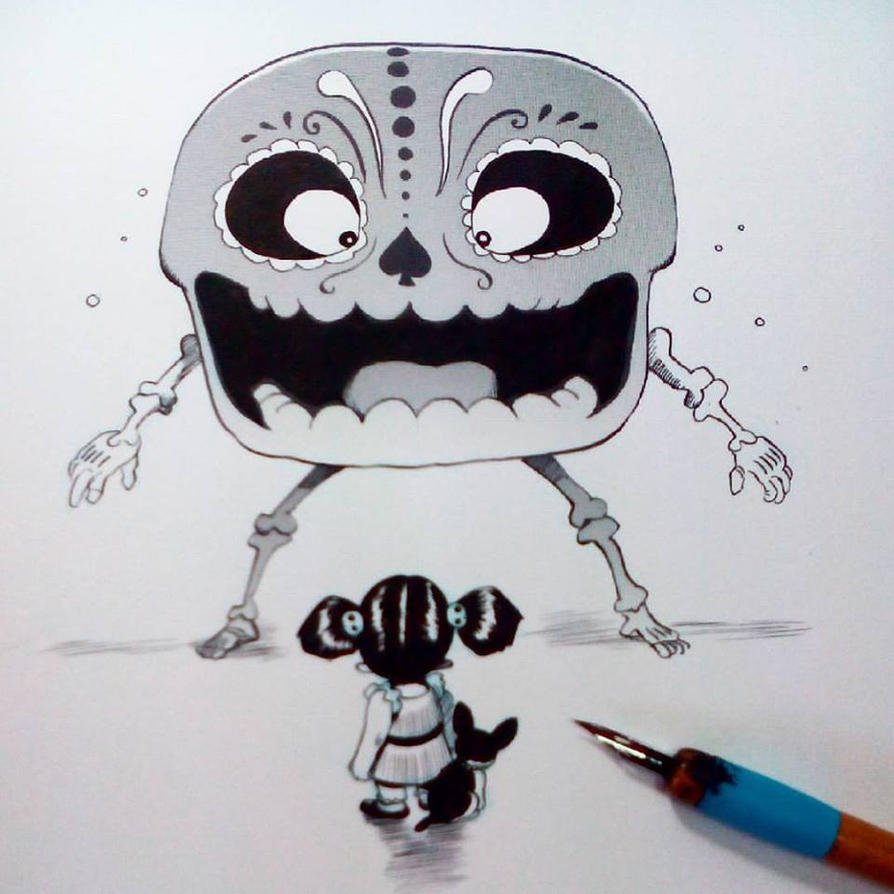 Inktober2015 day 9 by raultrevino