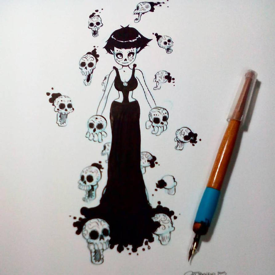 Inktober2015 day 10 by raultrevino