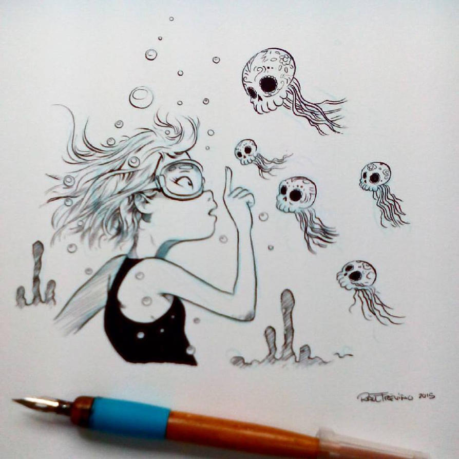 Inktober2015 day 11 by raultrevino