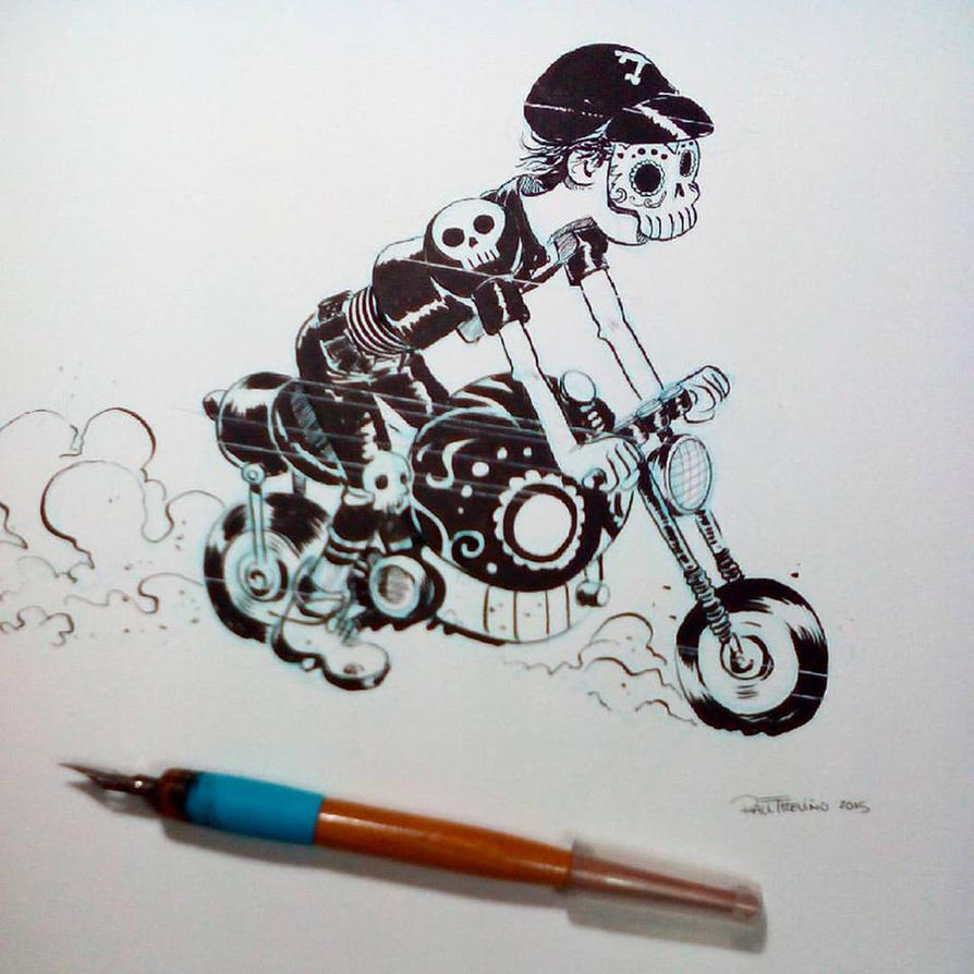 Inktober2015 day 12 by raultrevino