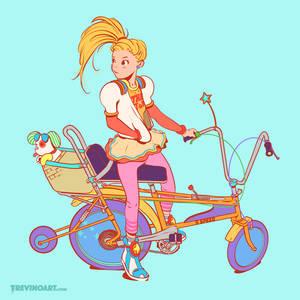 Raleigh Chopper Girl