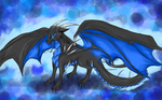 Digital Attempt - Saphire Dragon