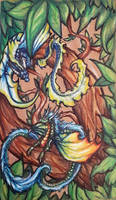 ~ Tiny Tree Dragons ~ by SaphireDragon16