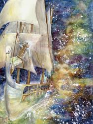 Voyage of the Vingilot by Mellaril