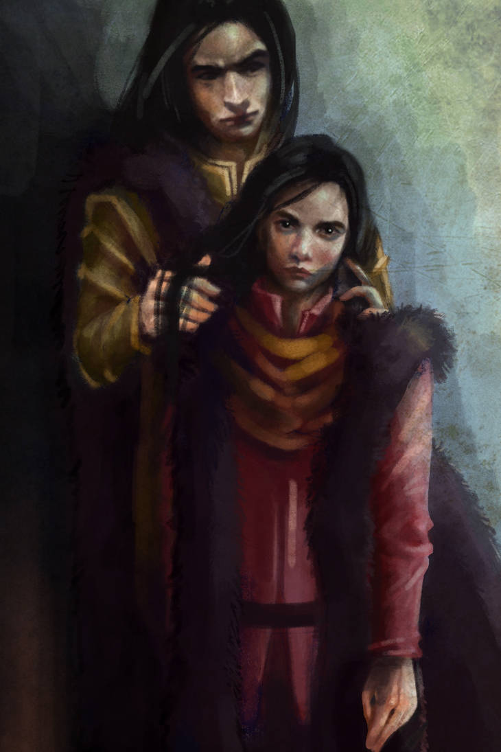 Father (Eol and Young Maeglin) by Mellaril