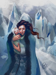 Depth of Winter (Idril and Turgon) by Mellaril