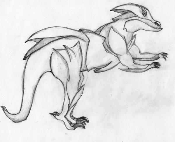 Armored Lizard by Megamrine on DeviantArt