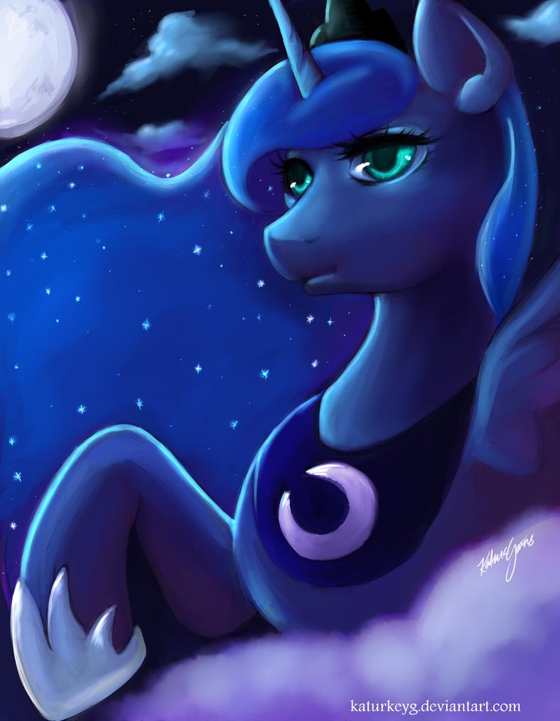 Luna: Princess of the Night by katurkeyg