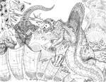 Dimetro Rex vs Baragon