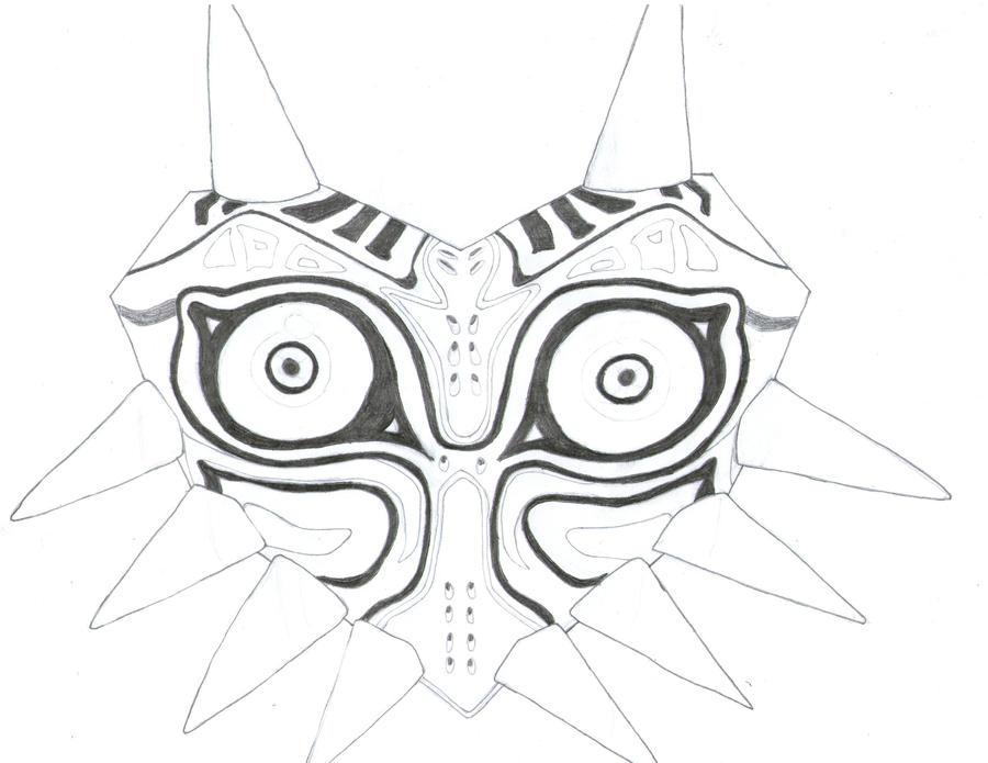 Major'S Mask Drawing 46