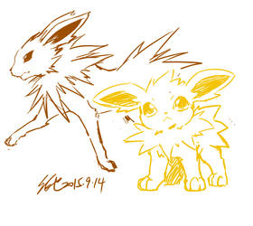 Jolteon by koya10305