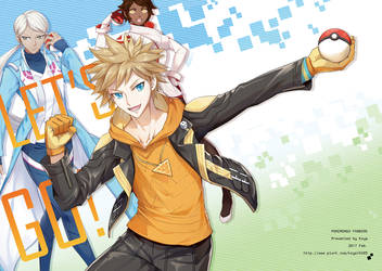 Pokemon Go team leaders (Manga) by koya10305