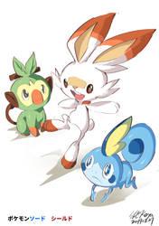 Pokemon sword shield by koya10305