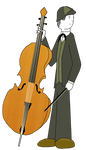 Horace Playing the Cello