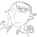 Saphy Self-Portrait Sketch