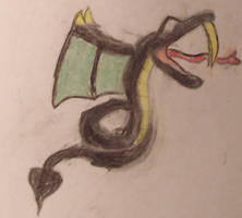 Dark Poison Serpent by SapphireWarrior