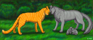 Fireheart and Graystripe