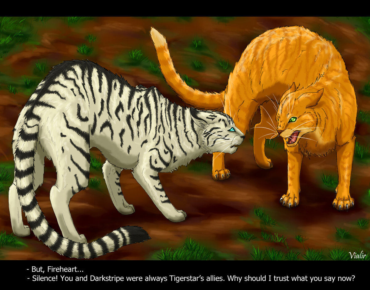 Yellowfang And Fireheart Yellowfang And Firehea...