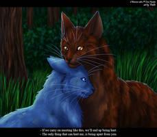 Bluefur and Oakheart by Vialir