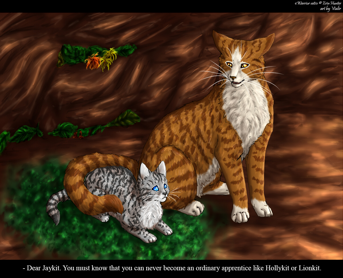 Warrior Cats Br... Leafpool And Crowfeather Mating