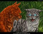 Squirrelflight and Jayfeather