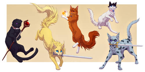 Catization: Slayers by Vialir