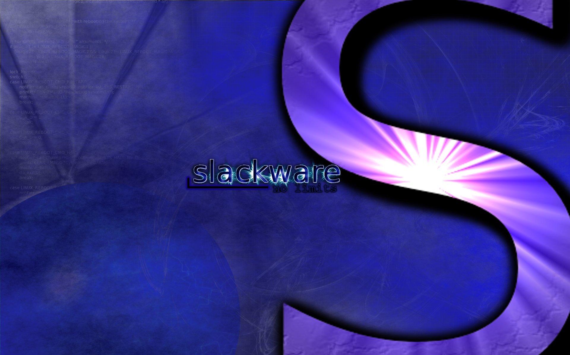 slackware by pauledwards03