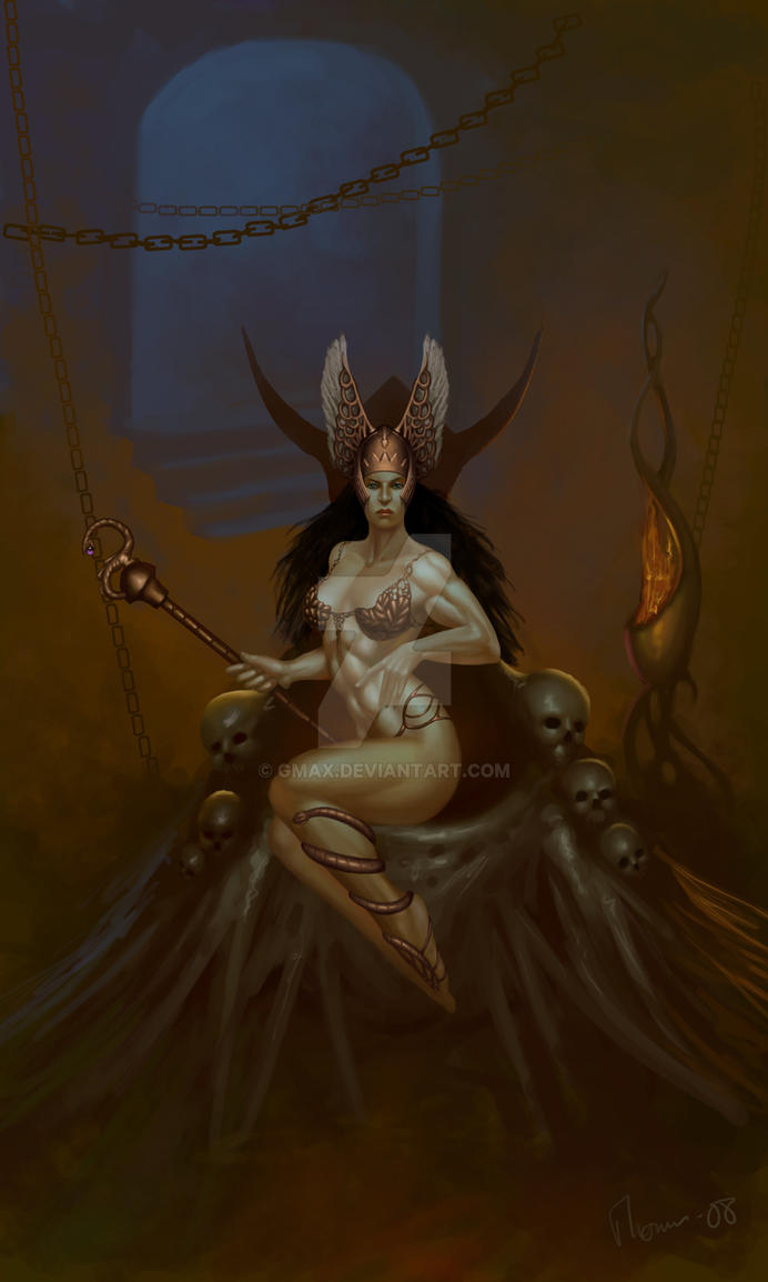 Savage queen by gmax
