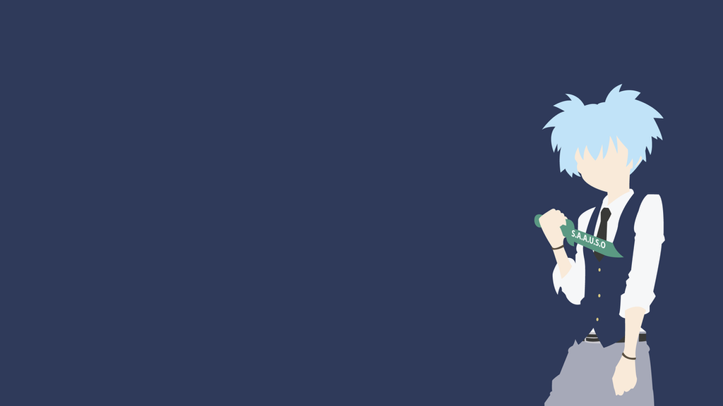 Minimalist Classroom Wallpaper ~ Nagisa shiota assassination classroom minimalist by