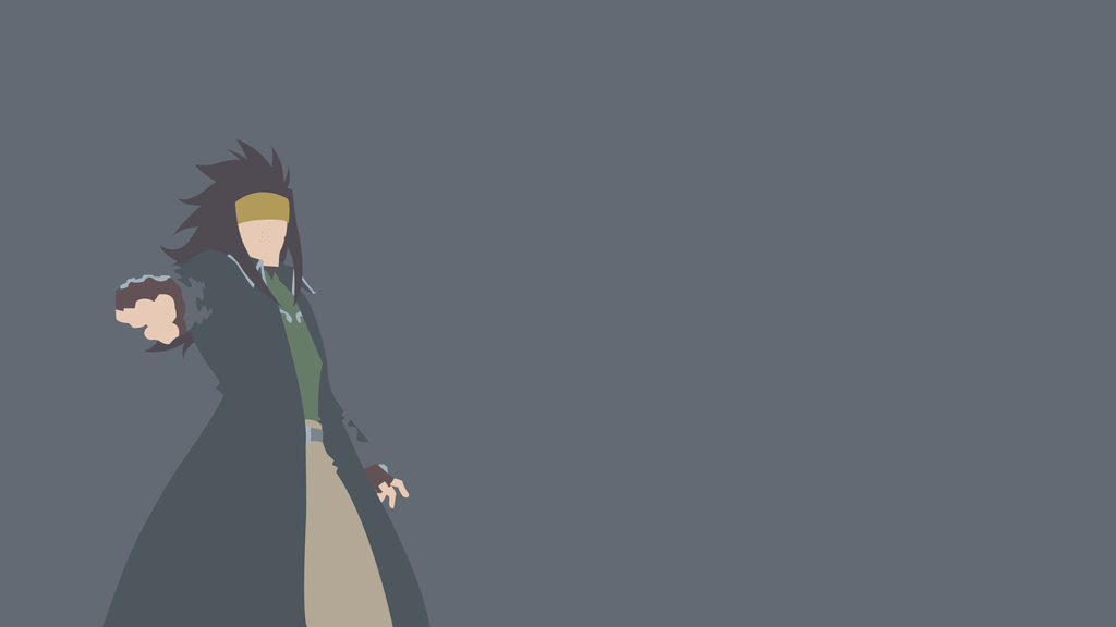 Gajeel Redfox (Fairy Tail) Minimalistic by Ancors on ...