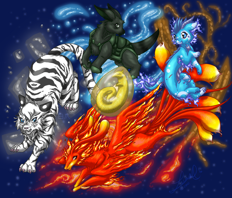The Chinese Constellations by LunaMadison on DeviantArt: lunamadison.deviantart.com/art/the-chinese-constellations-182885218
