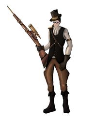 Steampunk Hunter design by IcarusTyler