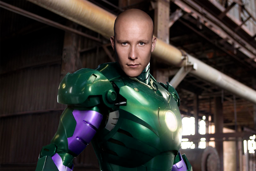 Lex Luthor Iron Man by IcarusTyler