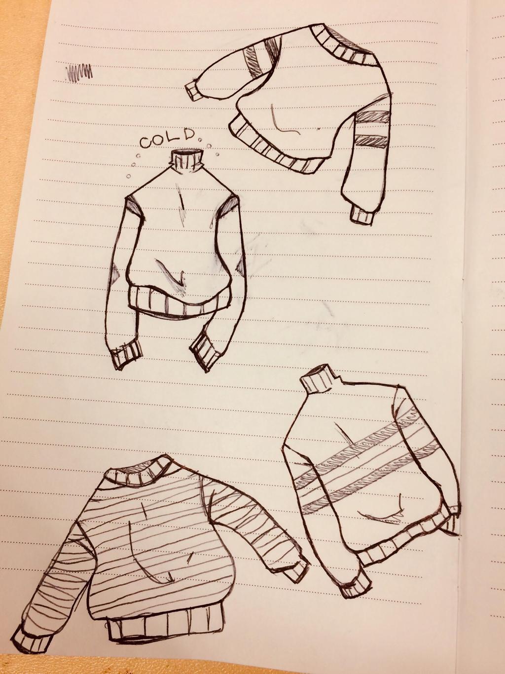 Sweater weather doodles by OkamiWaffuru on DeviantArt