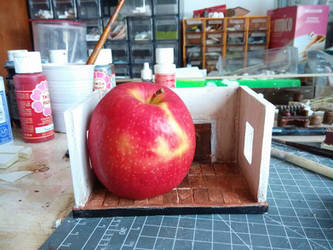 little apple room -  magritte tribute by massidb