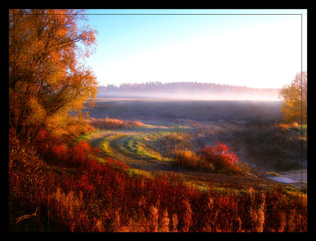 One October Morn... by zorm