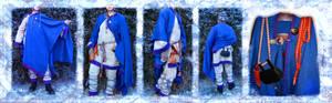 Viking-era test costume WIP