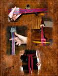 Tablet weaving test
