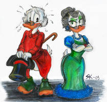 Scrooge and Goldie tryout