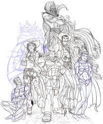 Buzz Lightyear and co WIP 3