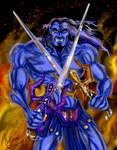Fighting Keldor