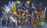 The Last Dark cartoon FINAL by zorm