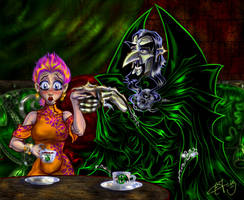 SS-NT Tea in the Dungeons by zorm