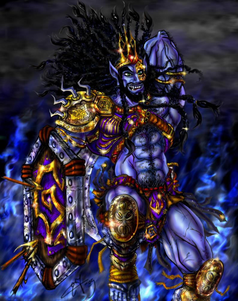 Battlestance Khran Colored by zorm