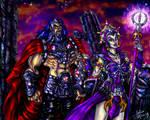 Evil-Lyn's Plot Colored