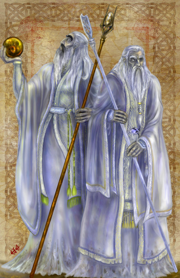 White Wizards by zorm